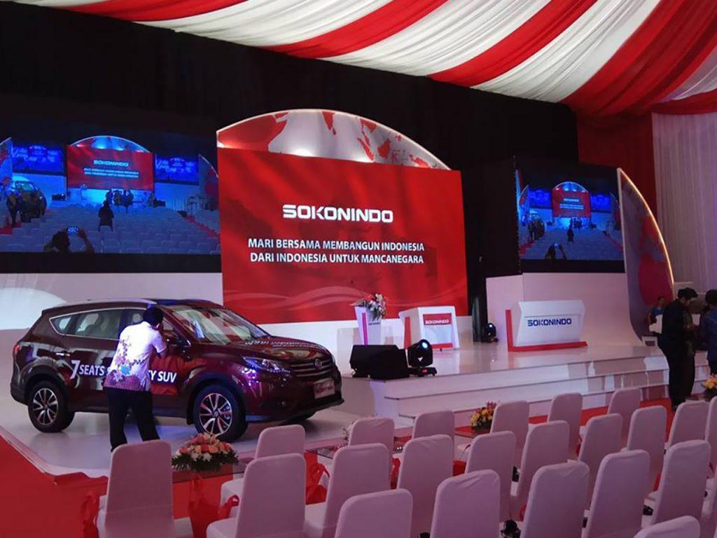 Event Peresmian Pabrik Mobil Tangerang
