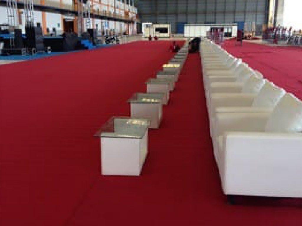 Sewa Sofa Event Peresmian Pabrik