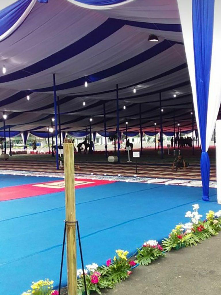 Tenda Dekorasi Konvensional Event Kantor