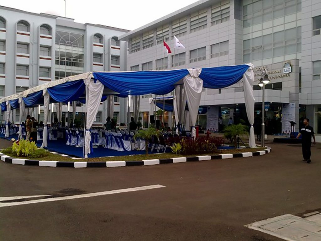 Tenda Dekorasi Konvensional Event Peresmian Gedung Kampus Ciputat