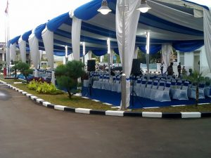 Tenda Dekorasi Konvensional Event Peresmian Gedung Kampus UIN Ciputat