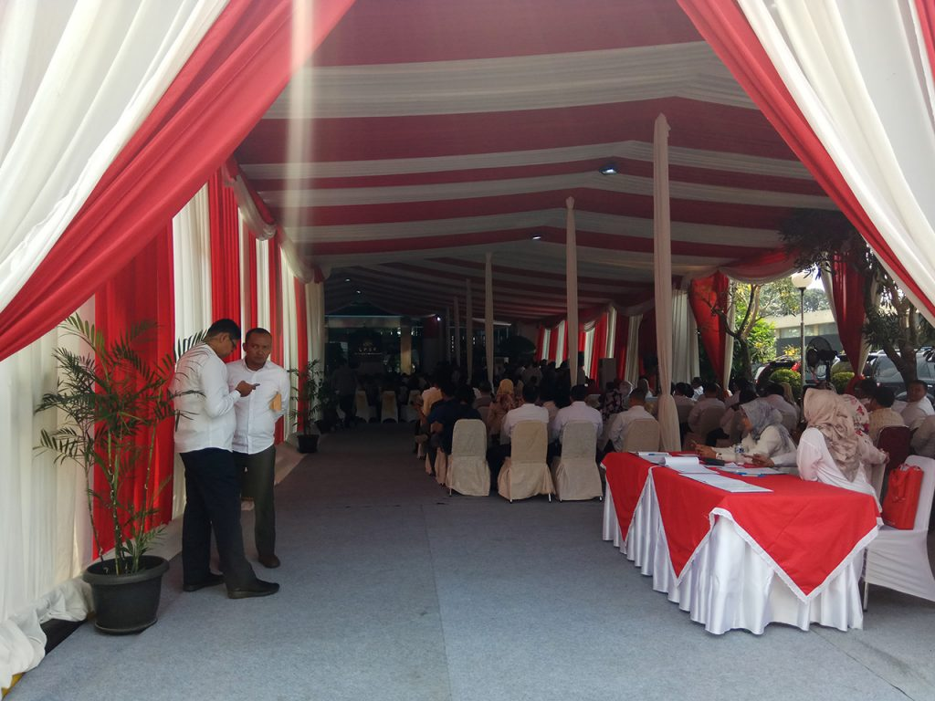 Tenda Dekorasi VIP Konvensional Event Peresmian Gedung Jakarta