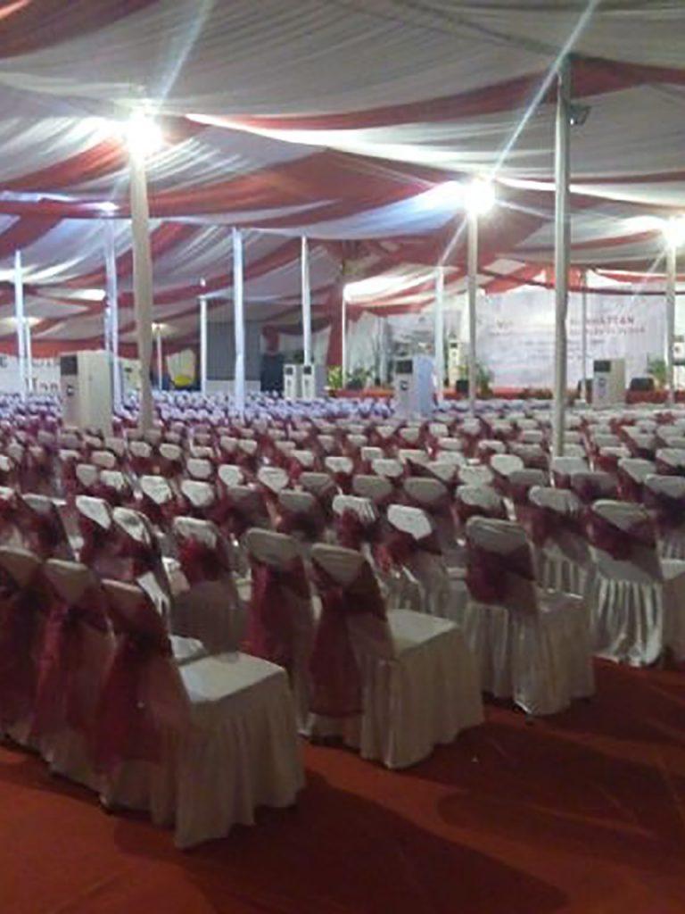 Tenda Dekorasi VIP Konvensional Event Peresmian Perumahan