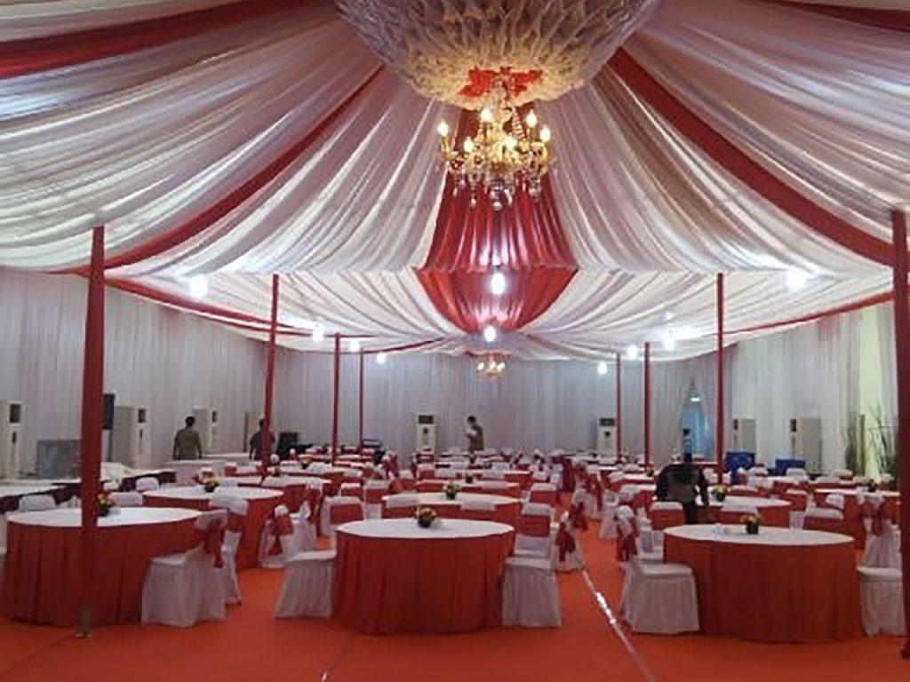Tenda Dekorasi VVIP Jakarta