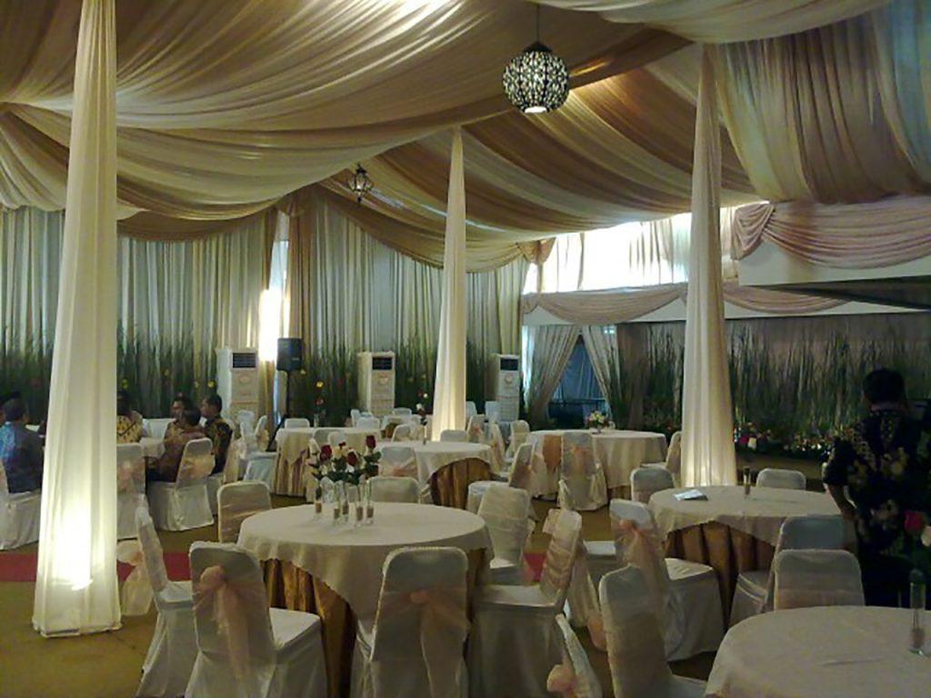 Tenda Dekorasi VVIP Konvensional Event Buka Puasa Bersama Presiden dan Wakil Presiden