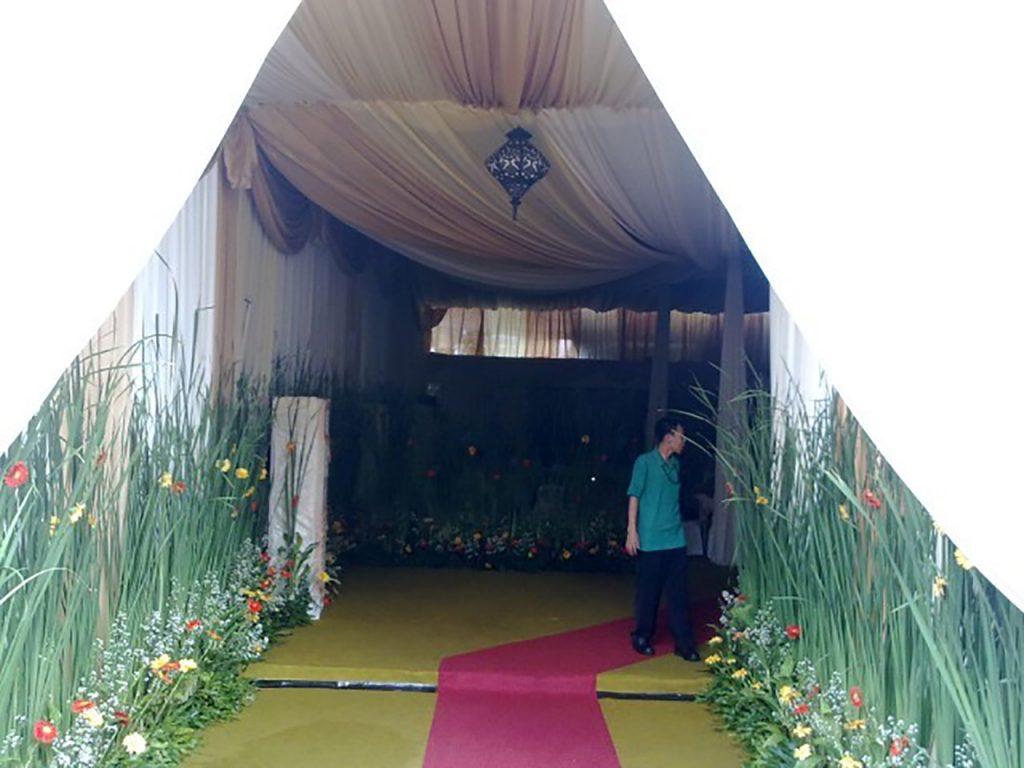 Tenda Dekorasi VVIP Konvensional Event Buka Puasa Bersama Presiden dan Wakil Presiden Jakarta
