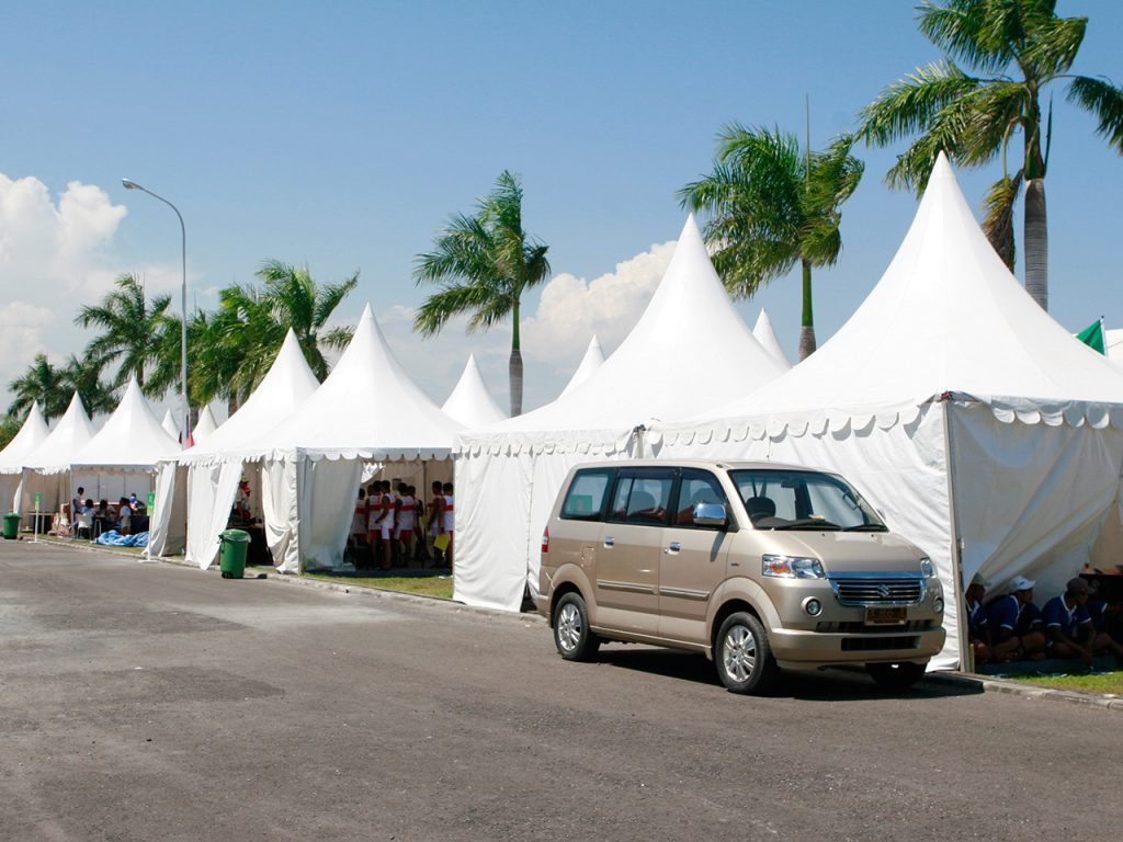 Tenda Kerucut 5x5 Event Kantor