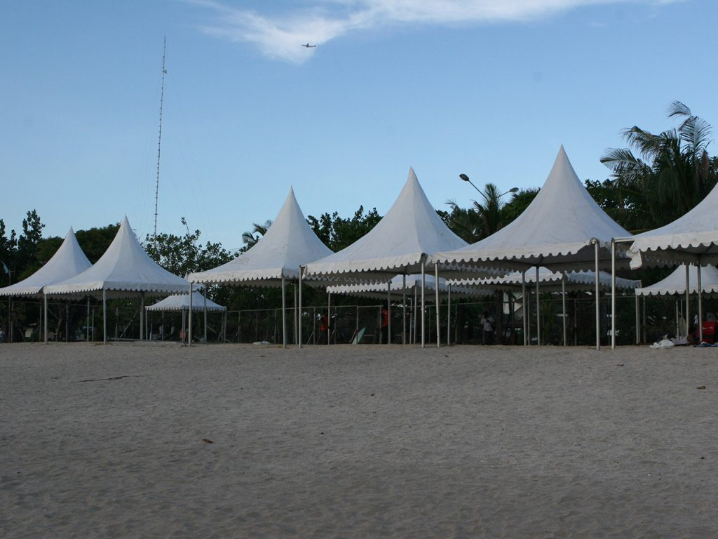 Tenda Kerucut 5x5 Event Olah Raga
