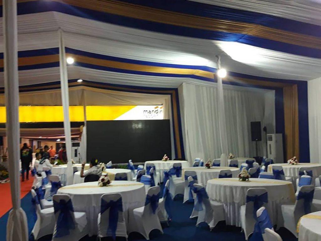 Tenda Pesta VIP Event Peresmian Gedung Bank Mandiri Taspen Jakarta
