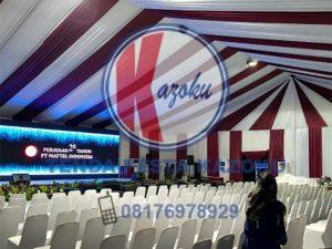 Tenda Roder Dekorasi VIP