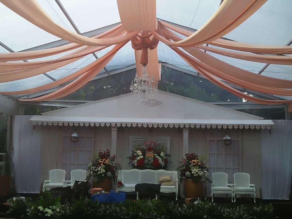 Tenda Roder Transparan Event Wedding