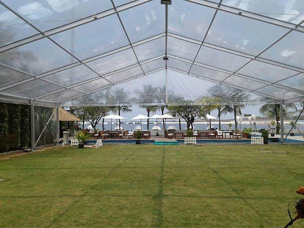 Tenda Roder Transparan Jakarta