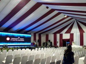 Tenda Roder VIP Event Ulang Tahun Pabrik