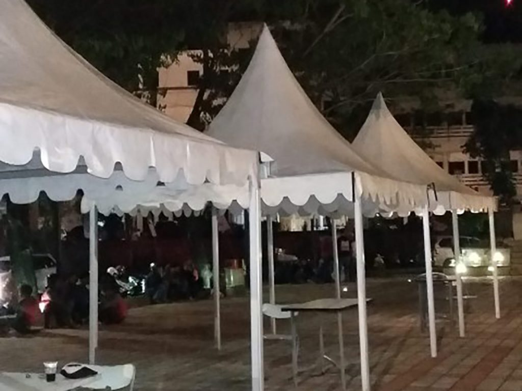Tenda Sarnafil 3x3 Event Bazar
