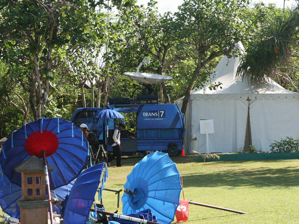 Tenda Sarnafil 5x5 Ruang Tunggu Artis