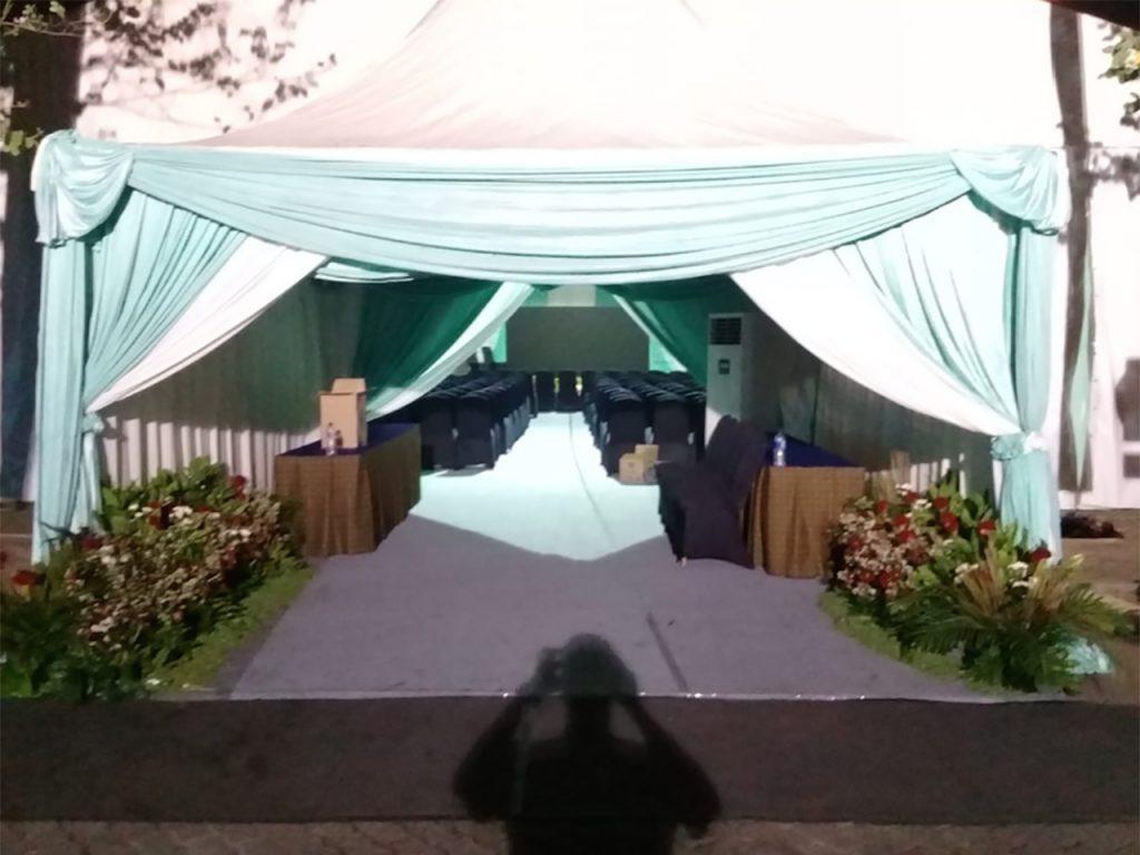 Tenda Sarnafil Dekorasi Pintu Masuk Tenda Roder