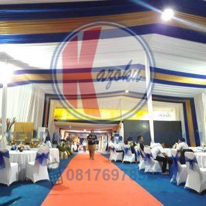 Sewa Tenda - Event Peresmian Kantor Pusat Bank Mandiri Taspen